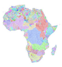 africa map high resolution river basins of africa in rainbow colours album on imgur