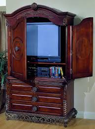 Tv Armoire Homelegance Madrid Tv Armoire With Breakaway Doors 829 7