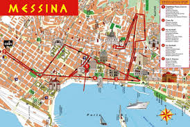 Map Of Italy And Sicily by An Introduction To Messina Sicily