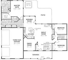 74 best house plans 3 bedroom images on pinterest house floor