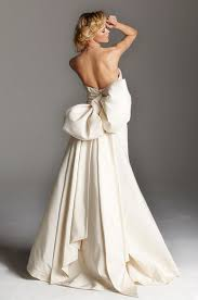 wedding dresses with bows to bow or not to bow wedding dresses that make a statement with