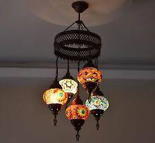 Turkish Chandelier Mosaic Chandelier Ebay