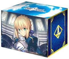 character deck case collection max fate grand order saber altria