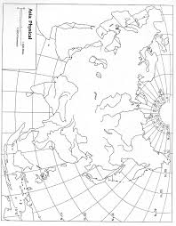 Blank Map Of East And Southeast Asia by Outline Map Of Asia Physical With Blank Features And Outline Map
