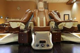 lexor infinity pedicure spa chair in cappuccino and champagne