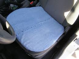 cool u0026amp comfy recycled blue jean car cushion 4 steps