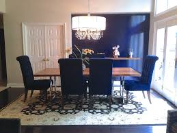 Navy Blue Dining Room Blue Dining Room Chairs