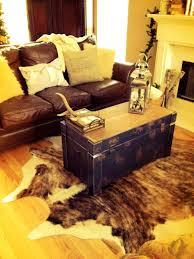 Holiday Bathroom Rugs by Bathroom Living Room With Cowhide Rug Living Room With Cowhide