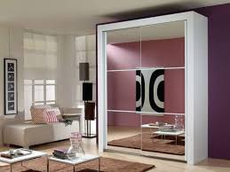 Clear Mirrored Wardrobe 2 Door Stylishly Space Saving Sliding Mirror Closet Doors Home Decor News