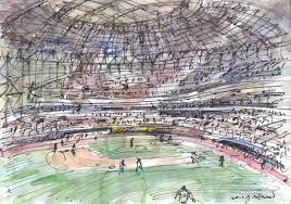 sketches at gocheok sky dome urban sketchers