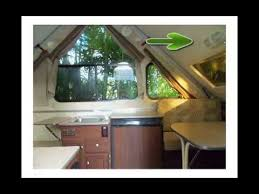 Camper Interiors Aliner Classic 2011 Pop Up Camper Youtube