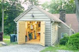 building a workshop garage smart shop in a one car garage startwoodworking com