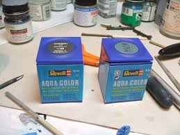 revell aqua color paint review for brushing the airfix