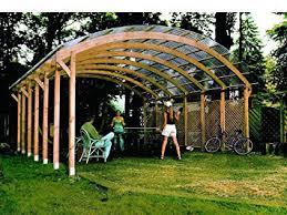 coperture tettoie in pvc mio giardino conwy tettoia carport in legno con copertura