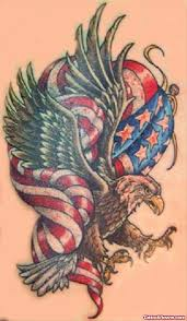 american eagle tattoo on bicep tattoo viewer com