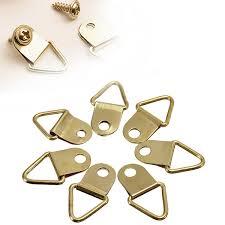 frame hanger mtgather universal strong golden 50pcs d rings decor picture