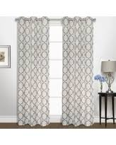 great deals on navy blue curtain panels