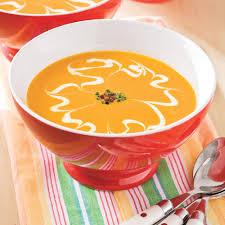 Thanksgiving Carrots Baby Carrot Soup Recipe Myrecipes