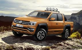 vw amarok gets new 201 hp v6 diesel canyon special edition