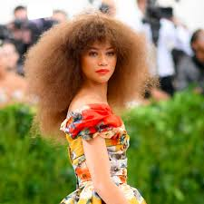 zendaya u0027s hair and makeup at the met gala 2017 popsugar beauty