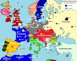 Map Of Eurpoe Europe In 1914 Map Grahamdennis Me