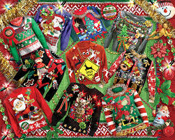 ugly christmas sweaters jigsaw puzzle puzzlewarehouse com