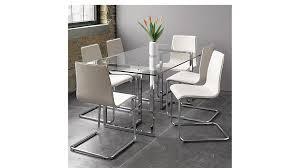 Dining Room Furniture Glass Silverado 72