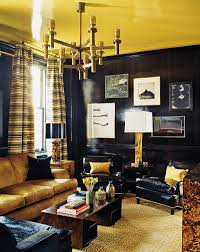 living room photography 15 refined decorating ideas in glittering black and gold