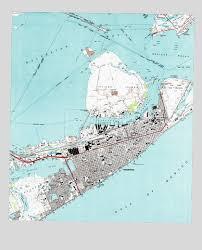 map of galveston galveston tx topographic map topoquest