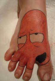a61485dc3089477fc2daf27e37bda918 a foot tattoo why not zoidberg