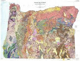 map of oregon geologic map of oregon ngmdb data gov