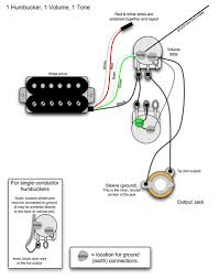 wiring diagram 2 humbucker 1 volume tone wiring diagram