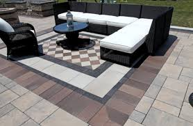 Making A Paver Patio by 10 Patios That Use Paver Patterns To Make A Statement Unilock