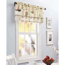 interior better homes and gardens nautical kitchen curtain