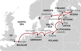Kiel Germany Map by Sailing From The Baltic To Britain Wild Earth Travel