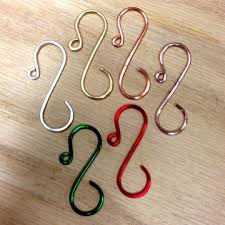 ornament hooks by artisan connie pardini wirestorm creations