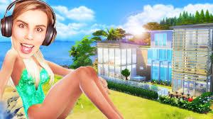 my dream beach house the sims 4 house building youtube