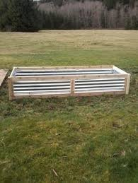 Corrugated Metal Planters by Amazing Raised Beds Corrugated Metal Raised Bed And Raising