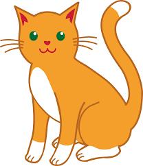 pet clipart simple cat pencil and in color pet clipart simple cat