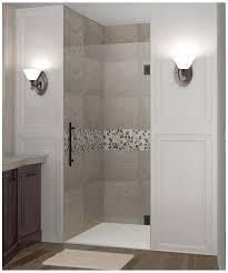 aston cascadia completely frameless hinged shower door 34