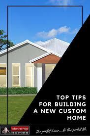 top tips for building a custom home de jong homes wagga builders