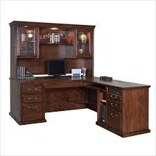 Executive Desk With Hutch Kathy Ireland Home By Martin Furniture Huntington Oxford L Shape