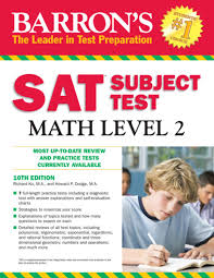 barron u0027s sat subject test math level 2 ebook by richard ku