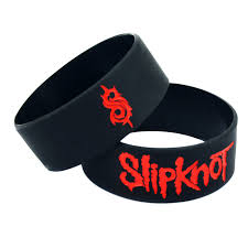 rubber silicone bracelet images Jephne music slipknot wristband rubber silicone bracelet cuff punk jpg
