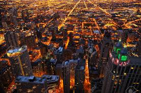 photography chicago aerial view of big city at chicago usa stock photo