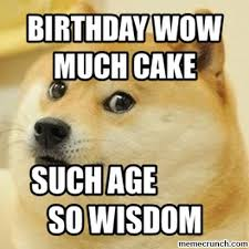 Much Wow Meme - wow much cake