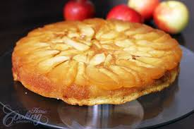 apple upside down cake home cooking adventure