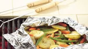 grilled garden vegetable medley foil pack recipe bettycrocker com