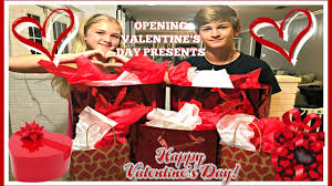 valentines presents s day present opening and haul and a special gift from