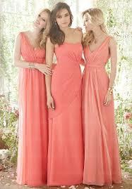 bridesmaid dresses coral mismatched bridesmaid dresses coral bridesmaid dresses chiffon